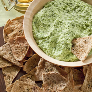 Chips And Spinach Dip Calories